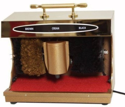 LAGOTTO 6 MONTHS WARRANTY Hotels, Home, & Office GOLDEN Automatic Shoe Polishing Machine