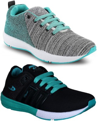 Chevit Combo Pack of 2 Sports Shoes Walking Shoes For Men
