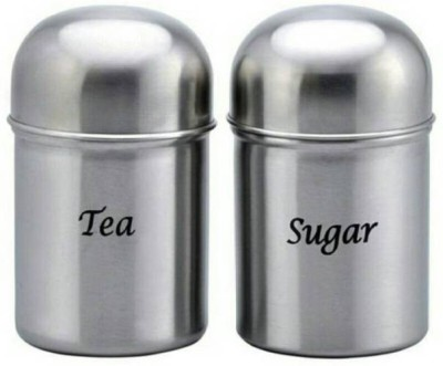 Airvyn Airvyn - 550 Ml Steel Tea Coffee & Sugar Container  - 550 ml Steel Tea Coffee & Sugar Container