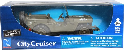 New-Ray 1:32 City Cruiser Jeep Willys Diecast Model Car