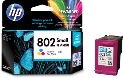HP 802 Small Tri color Ink Cartridge