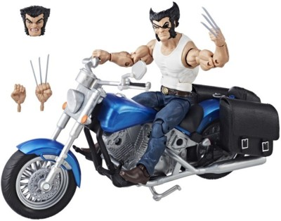 Avengers Legends Series 6-inch Wolverine and Motorcycle