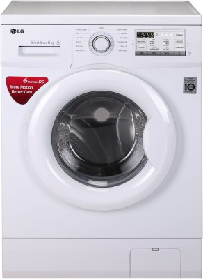 LG 6 kg Inverter Fully Automatic Front Load Washing Machine White