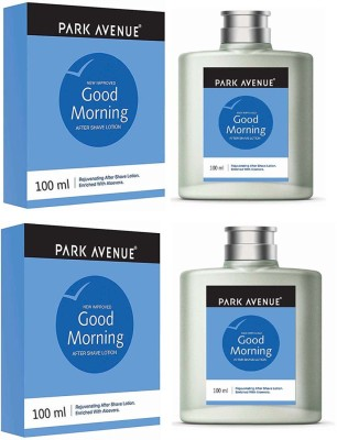 Park Avenue Good Morning AFTER SHAVING LOTION 100 ml × 2 Pack Of Two