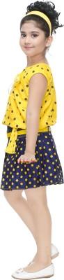 CELEBRITY CLUB Girls Party(Festive) Top Skirt