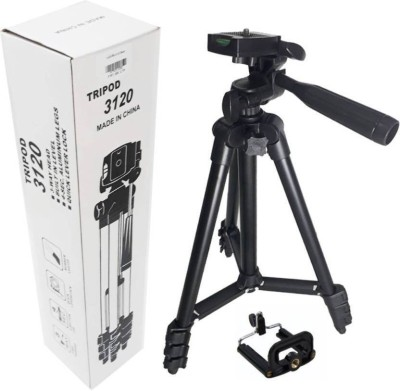 Syvo DSLR Camera Tripod - 3120 Compatible with most video cameras, digital cameras, still cameras, GoPro devices, smartphone adapters and scopes , Latest Tripod Tripod Kit