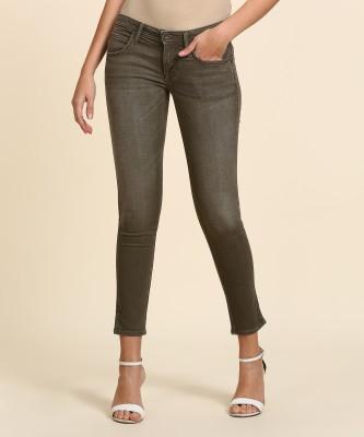 Wrangler Skinny Women Brown Jeans