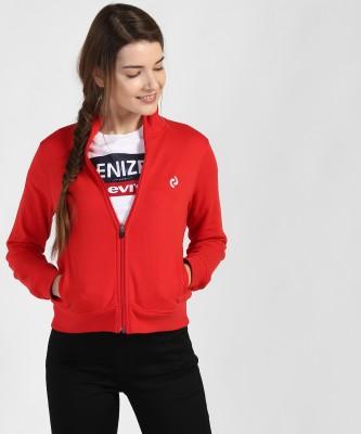 Denizen from Levi's Full Sleeve Solid Women Sweatshirt
