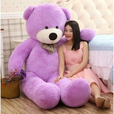 Buttercup Cute Sprinkles Purple 152 Cm 5 feet Huggable And Loveable For Someone Special Teddy Bear  - 152 cm