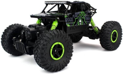 Tiny's World Rock Crawler Rechargeable RC 4WD Rally Car 1:18 Scale 2.4GHz