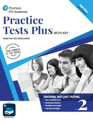 Practice Test Plus of Pearson Test of English Academic Vol.2