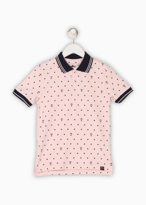 BARE KIDS Boys Printed Cotton T Shirt