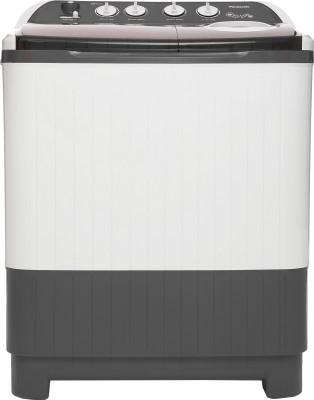 Panasonic 8 kg Semi Automatic Top Load Washing Machine White, Grey