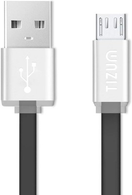 TIZUM Tangle-Free (1 meter/ 3.3 Feet) Fast Charging USB Cable
