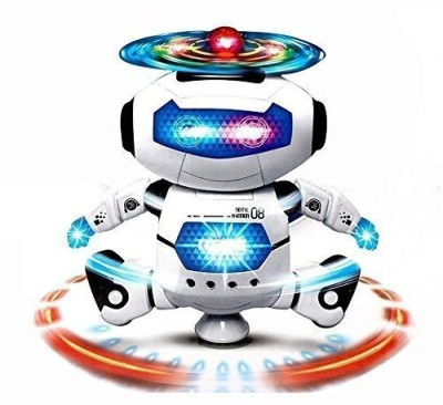 kts KHALSA TOYS AND SALES Musical Dancing Robot with 3D Lights (Multicolor)