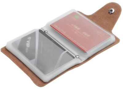 Fine Quality I 12 Card Slot I Artificial leather Debit/Credit/ID/Visiting 10 Card Holder