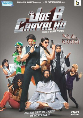 Mr Joe B Carvalho - 2015 Bollywood Comedy Movie DVD / Region Free / English Subtitles