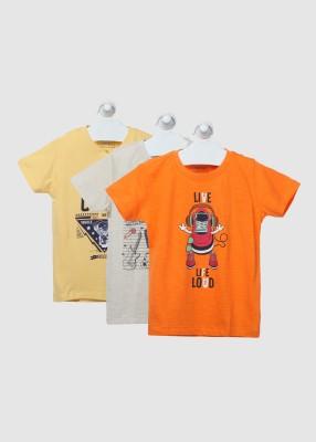Cherokee Boy's Printed Cotton T Shirt