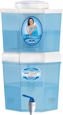 Kent Gold Optima (11016) 10 L Gravity Based Water Purifier