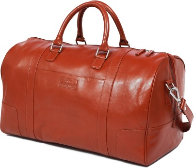 Skincrafts Leather Europe Travel Duffle Luggage Bag for Men Travel Duffel Bag