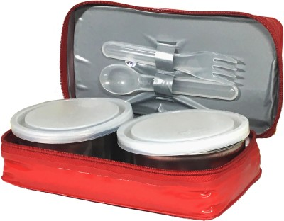Milton lujoso Mini 2 Containers Lunch Box 2 Containers Lunch Box