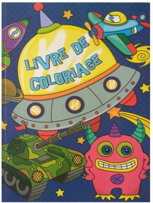 RS PAPER COLOURING BOOK FOR KIDS : BOYS