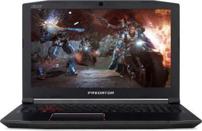 Acer Predator Helios 300 Core i7 8th Gen - (8 GB/1 TB HDD/128 GB SSD/Windows 10 Home/4 GB Graphics) PH315-51 Gaming Laptop
