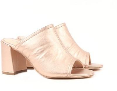 Miss CL By Carlton London Women ROSEGOLD Heels