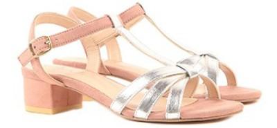 Miss CL By Carlton London Women BLUSH PINK Heels