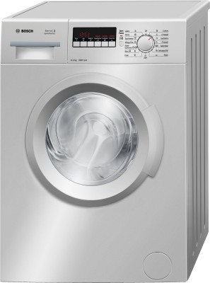 Bosch 6 kg Fully Automatic Front Load Washing Machine with In-built Heater Silver