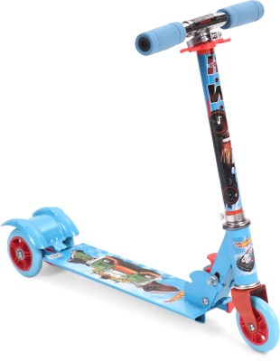 Hot Wheels Scale Speed 3 Wheel Scooter - Blue