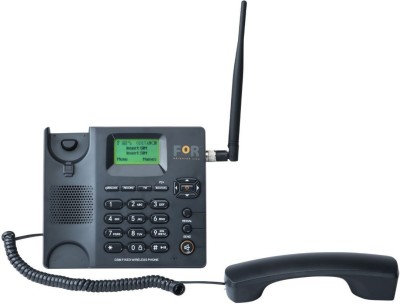 FOR NEW F2+ GSM FIXED WIRELESS BUSINESS PHONE Cordless Landline Phone with Answering Machine