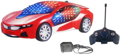 Imstar Chargeable 3D Remote Control Lightning Famous Car