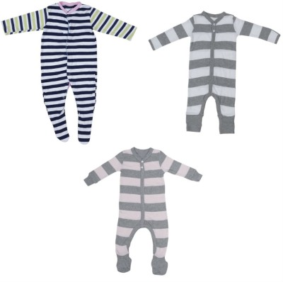 Indirang Baby Boys & Baby Girls Multicolor Bodysuit