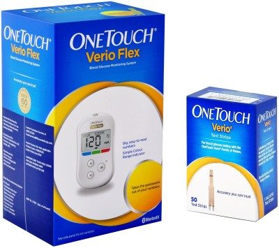 OneTouch Verio Meter with Verio 50 Strips Health Care Appliance Combo