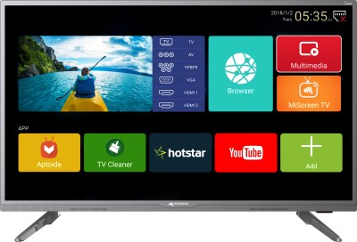 Micromax Canvas 102cm (40 inch) Full HD LED Smart TV 2018 Edition