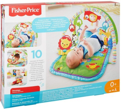 Fisher-Price Rain Forest Friends 3 in 1 Musical Activity Gym