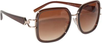Peter Jones Retro Square Sunglasses