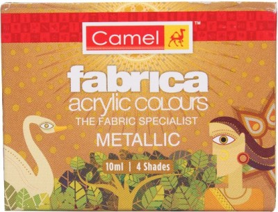 Camel Fabrica Acrylic Metallic Colours - 4 Shades