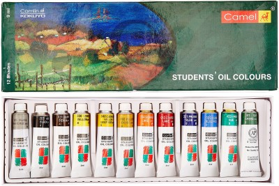 Camel Students Oil Colours - 12 Shades