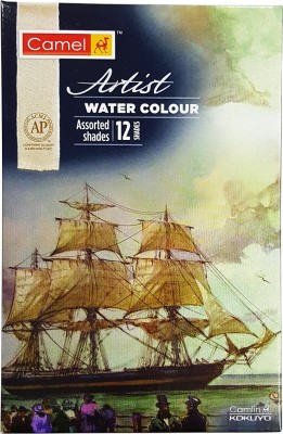 Camel Artist Water Colour - 12 Shades