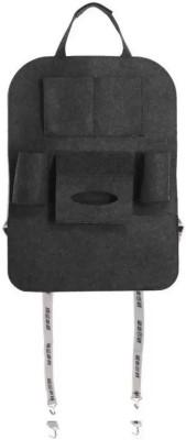 SHIMON Car Back Seat Storage Bag For Mobile / Car Documents Paper / Bottle / Tissue Paper Car Multi Pocket Car Storage Bag Car Storage Bag