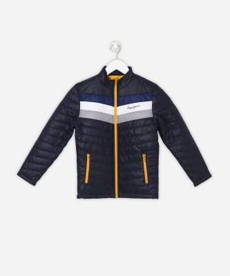 Pepe Jeans Full Sleeve Solid Boy's Jacket