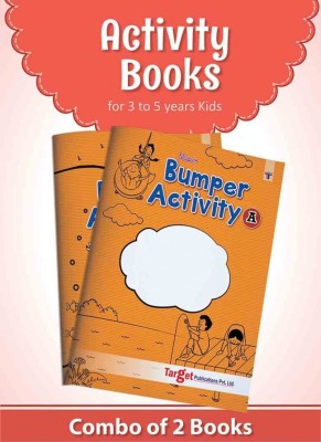 Activity Books for 3 to 5 year Kids (Combo of 2 Bumper activity books)