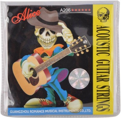 Inditrust Acoustic Alice Acoustic String124 Guitar String (6 Strings) Guitar String