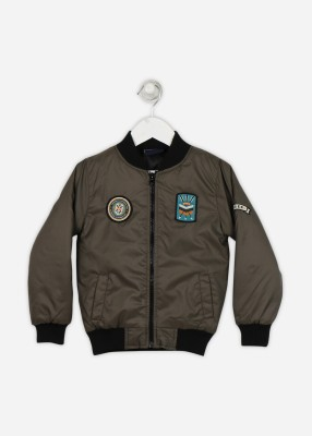 Cherokee Full Sleeve Solid Boy's Jacket