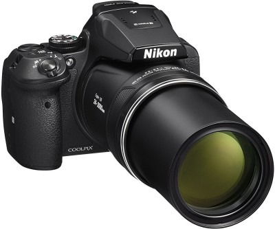 Nikon Coolpix P900 16.0MP Point and Shoot Camera (Black) with 83x Optical Zoom , Built-In Wi-Fi,HDMI Cable,16GB Card And Camera Bag Point and Shoot Camera