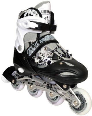 HOMMER Long Feng Adjustable Shoes (Large) In-line Skates - Size 6- 8 UK