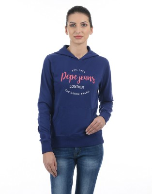 Pepe Jeans Full Sleeve Printed Women Sweatshirt