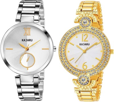 KAJARU LADIES_2101 PACK OF 2 WATCHES FOR WOMEN Watch  - For Girls